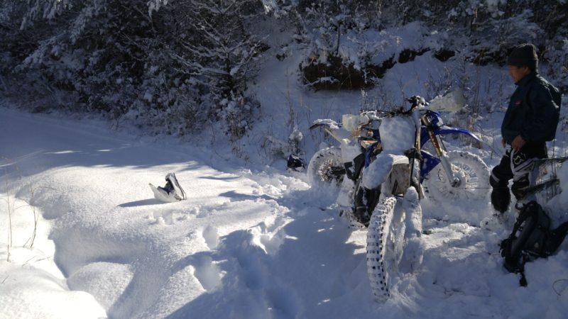 2月11日(祝) 雪中林道ツーリング 行きます!