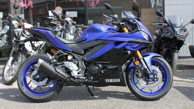 YZF-25 ABS 試乗車 準備出来ました!